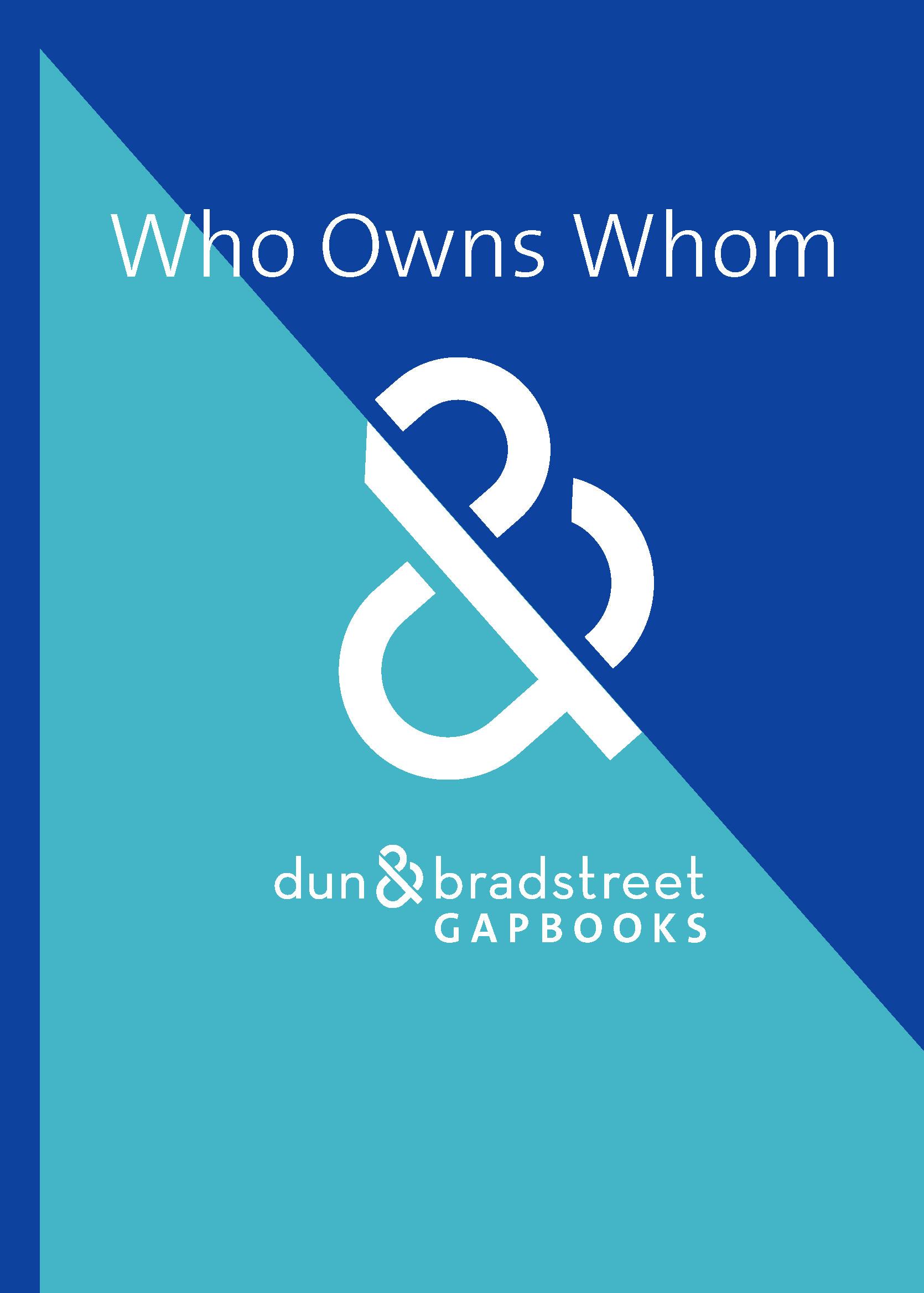 brett utbud heta produkter specialförsäljning D&B Who Owns Whom 2019/20 - GAP Books